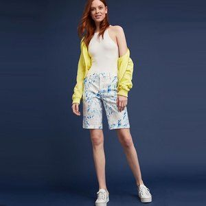 Level 99 Floral Print Bermuda Shorts - LIKE NEW